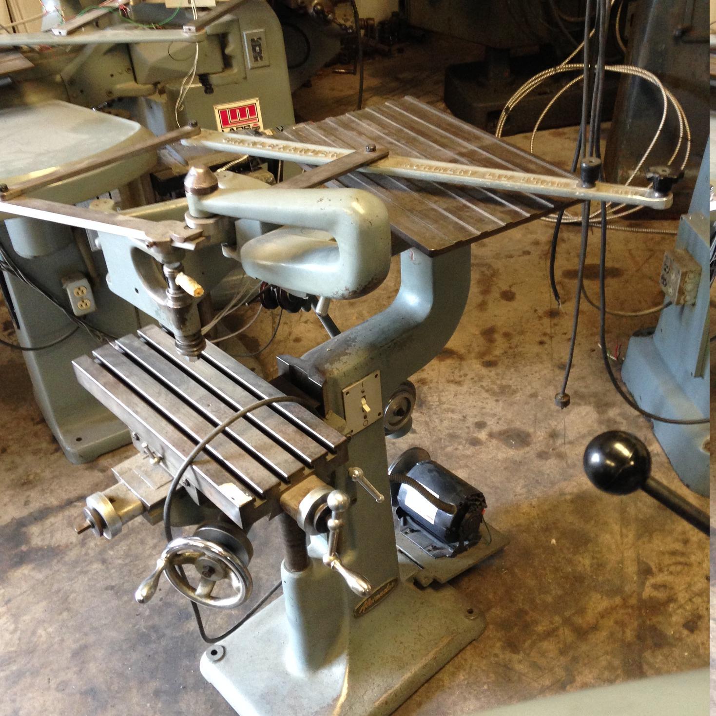 GEORGE H ALEXANDER Pantograph Engraving Machine